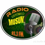Logo da emissora Radio Musun 93.3 FM