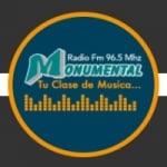 Logo da emissora Radio Monumental 96.5 FM