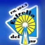 Logo da emissora Radio Estrella del Mar 104.3 FM
