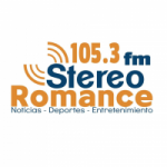 Logo da emissora Radio Stereo Romance 105.3 FM