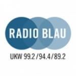 Logo da emissora Blau 99.2 FM
