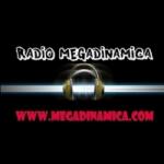 Logo da emissora Rádio Megadinâmica