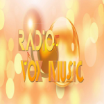 Logo da emissora Rádio Vox Music