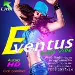 Logo da emissora FM Pop Eventus