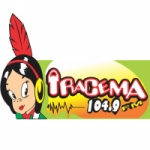 Logo da emissora Rádio Iracema 104.9 FM