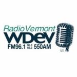 Logo da emissora WDEV 550 AM