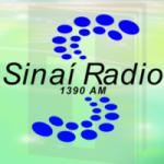 Logo da emissora Sinaí Radio 1390 AM