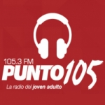 Logo da emissora Radio Punto 105 105.3 FM