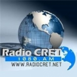Logo da emissora Radio CRET 1080 AM