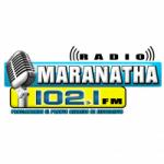 Logo da emissora Radio Maranatha 102.1 FM