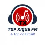 Logo da emissora Rádio Top  Xique FM