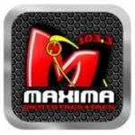 Logo da emissora Radio Máxima 103.3 FM