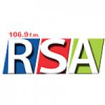 Logo da emissora Radio Stereo Adventista 106.9 FM