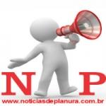 Logo da emissora Rádio Notícias de Planura
