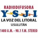 Logo da emissora Radio La Voz del Litoral 1400 AM 90.1 FM