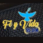 Logo da emissora Radio Fe y Vida 95.3 FM