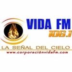 Logo da emissora Radio Vida 106.1 FM