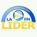 Logo da emissora Radio Lider 98.1 FM
