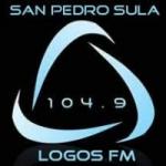 Logo da emissora Radio Logos 104.9 FM