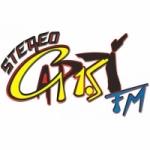 Logo da emissora Radio Stereo Capri 91.5 FM