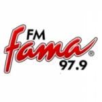 Logo da emissora Radio Fama 97.7 FM