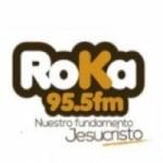 Logo da emissora Radio Roka 95.5 FM