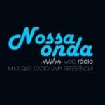 Logo da emissora Rádio Nossa Onda