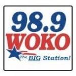 Logo da emissora WOKO 98.9 FM
