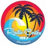 Logo da emissora Radio Cortés 105.7 FM
