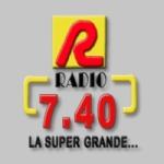 Logo da emissora Radio 7-40 740 AM