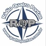 Logo da emissora Rádio Quatro Pontas