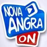 Logo da emissora Nova Angra On