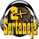 Logo da emissora Rádio A Mais Sertaneja