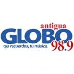 Logo da emissora Radio Globo Antigua 98.9 FM