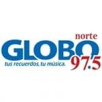 Logo da emissora Radio Globo Norte 97.5 FM