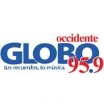 Logo da emissora Radio Globo Occidente 95.9 FM