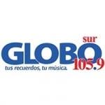 Logo da emissora Radio Globo Sur 105.9 FM
