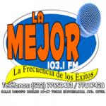 Logo da emissora Radio La Mejor 103.1 FM