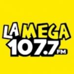 Logo da emissora Radio La Mega 107.7 FM