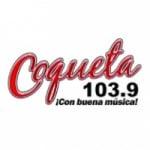 Logo da emissora Radio Coqueta 103.9 FM