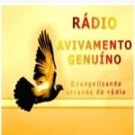 Logo da emissora Rádio Avivamento Geunuíno