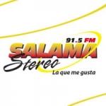 Logo da emissora Radio Salamá Stereo 91.5 FM