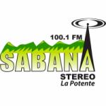 Logo da emissora Radio Sabana Stereo 100.1 FM