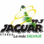 Logo da emissora Radio Jaguar Stereo 99.7 FM