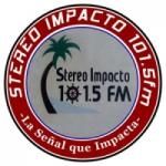 Logo da emissora Radio Stereo Impacto 101.5 FM