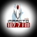 Logo da emissora Radio Impacto 107.7 FM