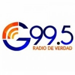 Logo da emissora Radio Genesis 99.5 FM