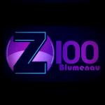 Logo da emissora Z100 Blumenau