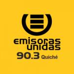 Logo da emissora Radio Emisoras Unidas 90.3 FM