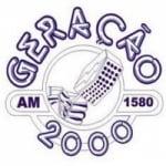 Logo da emissora Rádio Geração 2000